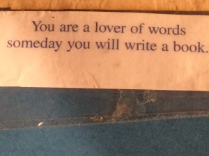 I'm also obviously a lover of Chinese food.